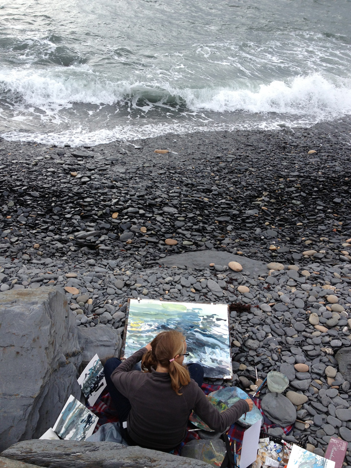 Painting in Scotland